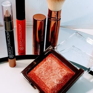 Makeup Set Bronzer ☆Lipgloss & Brush Beauty 💫💫💫